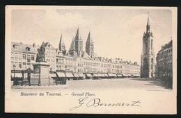SOUVENIR DE TOURNAI   GRAND'PLACE - Tournai