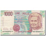 Billet, Italie, 1000 Lire, KM:114b, TB+ - 1000 Lire