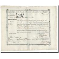 France, Traite, Colonies, Isle De Bourbon, 2923 Livres Tournois, 1780, SUP - ...-1889 Tijdens De XIXde In Omloop