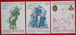 Schutzpatrone Der Kranken Und Krankenhäuser 1986 Mi 894-896 Yv 797-799 VATICANO VATICAN VATICAAN - Vatican