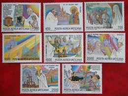Journeys Of Pope John Paul II 1986 Mi 899-906 Yv A75-A82 VATICANO VATICAN VATICAAN - Vatican
