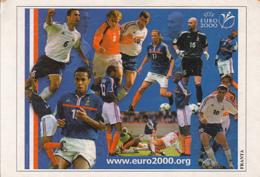 CPA SPORTS, SOCCER, FRANCE 2000 EUROPEAN CHAMPIONSHIP - Football