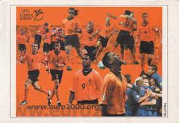 CPA SPORTS, SOCCER, NETHERLANDS 2000 EUROPEAN CHAMPIONSHIP - Football