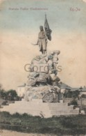 Romania - Targu Jiu - Statuia Tudor Vladimirescu - Romania