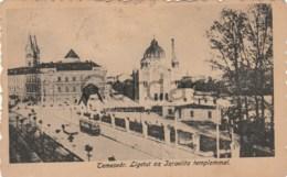 Romania - Timisoara - Sinagoga - Synagogue - Judaica - Tram - Romania