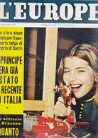 (pagine-pages)JACQUELINE SASSARD   L'europeo1957/606. - Libros, Revistas, Cómics
