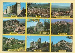 84. LE PAYS D'APT – Multivues (voir Scan Recto/verso) - Apt