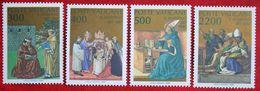 1600.Jahrestag Bekehrung U.Taufe Hl. Augustinus 1987 Mi 907-910 Yv 802-805 VATICANO VATICAN VATICAAN - Vatican