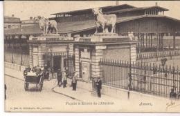 "ANTWERPEN-ANVERS""FACADE & ENTREE DE L'ABATTOIR-INGANG SLACHTHUIS""HERMANS N°700 - Antwerpen"