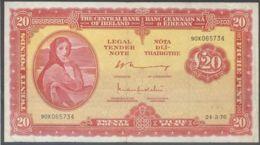 Ref. 4766-5269 - BIN IRELAND . 1976. IRELAND 20 POUND 1976 - Irland