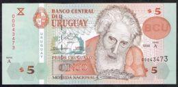 Ref. 5072-5577 - BIN URUGUAY . 1998. URUGUAY 5 PESOS 1998 - Uruguay