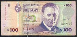 Ref. 5070-5575 - BIN URUGUAY . 1994. URUGUAY 100 PESOS 1994 - Uruguay