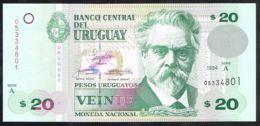 Ref. 5068-5573 - BIN URUGUAY . 1994. URUGUAY 20 PESOS 1994 - Uruguay