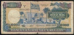 Ref. 5062-5567 - BIN URUGUAY . 1987. URUGUAY 10000 PESOS 1987 - Uruguay