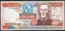 Ref. 5061-5566 - BIN URUGUAY . 1983. URUGUAY 5000 PESOS 1983 - Uruguay