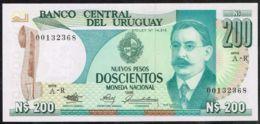 Ref. 5060-5565 - BIN URUGUAY . 1986. URUGUAY 200 PESOS 1986 - Uruguay