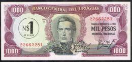 Ref. 5052-5557 - BIN URUGUAY . 1975. URUGUAY 1000 PESOS 1975 - Uruguay