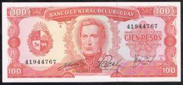 Ref. 5044-5549 - BIN URUGUAY . 1967. URUGUAY 100 PESOS 1967 - Uruguay