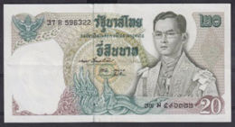 Ref. 5000-5505 - BIN THAILAND . 1971. THAILAND 20 BAHT 1971-81 - Tailandia