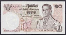 Ref. 4999-5504 - BIN THAILAND . 1969. THAILAND 10 BAHT 1969 1978 - Tailandia