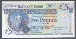 Ref. 4777-5280 - BIN IRELAND . 2000. IRELAND 5 POUNDS 2000 - Irlanda