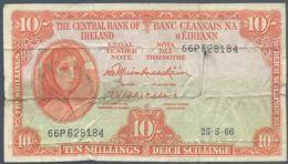 Ref. 4762-5265 - BIN IRELAND . 1966. IRELAND 10 POUNDS 1966 - Irland