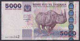 Ref. 4524-5027 - BIN TANZANIA . 2003. TANZANIA 5000 SHILLINGS 2003 - Tanzania