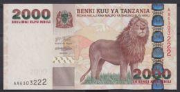 Ref. 4523-5026 - BIN TANZANIA . 2000. TANZANIA 2000 SHILLINGS 2000 - Tanzania