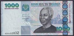 Ref. 4522-5025 - BIN TANZANIA . 2000. TANZANIA 1000 SHILLINGS 2000 - Tanzania