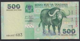Ref. 4521-5024 - BIN TANZANIA . 2003. TANZANIA 500 SHILLINGS 2003 - Tanzania