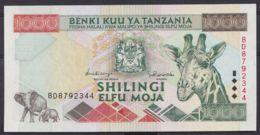 Ref. 4520-5023 - BIN TANZANIA . 1997. TANZANIA 1000 SHILINGI 1997 - Tanzania
