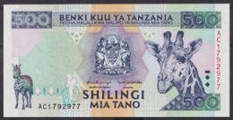 Ref. 4519-5022 - BIN TANZANIA . 1997. TANZANIA 500 SHILINGI 1997 - Tanzania