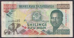 Ref. 4517-5020 - BIN TANZANIA . 1989. TANZANIA 1000 SHILINGI 1989 - Tanzania
