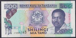 Ref. 4516-5019 - BIN TANZANIA . 1993. TANZANIA 500 SHILINGI 1993 - Tanzania
