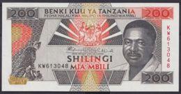 Ref. 4515-5018 - BIN TANZANIA . 1993. TANZANIA 200 SHILINGI 1993 - Tanzania