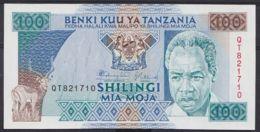 Ref. 4514-5017 - BIN TANZANIA . 1993. TANZANIA 100 SHILINGI 1993 - Tanzania