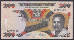 Ref. 4508-5011 - BIN TANZANIA . 1992. TANZANIA 200 SHILLINGS 1992 - Tanzania