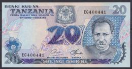 Ref. 4501-5004 - BIN TANZANIA . 1987. TANZANIA 20 SHILLINGS 1978 - Tanzania