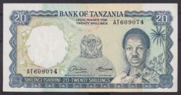Ref. 4499-5002 - BIN TANZANIA . 2020. TANZANIA 20 SHILLINGS 1966 - Tanzania
