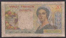 Ref. 4465-4968 - BIN FRENCH POLYNESIA . 1963. TAHITI POLINESIA FRANCESA 20 FRANCS PAPEETE 1963 - Papeete (Polynésie Française 1914-1985)