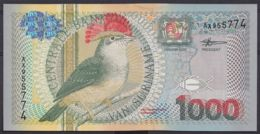 Ref. 4462-4965 - BIN SURINAME . 2000. SURINAM 1000 GULDEN 2000 - Suriname