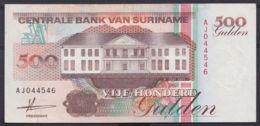 Ref. 4454-4957 - BIN SURINAME . 1991. SURINAM 500 GULDEN 1991 - Suriname