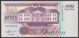 Ref. 4453-4956 - BIN SURINAME . 1991. SURINAME 100 GULDEN 1991 - Suriname