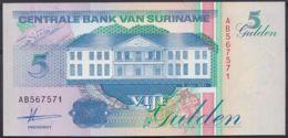 Ref. 4450-4953 - BIN SURINAME . 1991. SURINAM 5 GULDEN 1991 - Suriname