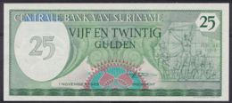 Ref. 4443-4946 - BIN SURINAME . 1985. SURINAME 25 GULDEN 1985 - Suriname