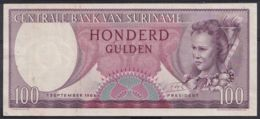 Ref. 4440-4943 - BIN SURINAME . 1963. SURINAME 100 GULDEN 1963 - Suriname