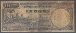 Ref. 4337-4840 - BIN INDOCHINA . 1947. INDOCHINA 10 PIASTRES 1947 - Indochine