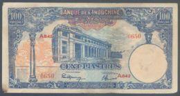 Ref. 4336-4839 - BIN INDOCHINA . 1940. INDOCHINA 100 PIASTRES 1940 - Indochine