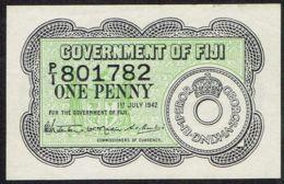 Ref. 4224-4727 - BIN FIJI . 1942. FIJI 1 PENNY 1942 - Fidschi