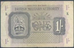 Ref. 4176-4679 - BIN GREAT BRITAIN . 1943. BRITISH MILITARY AUTHORITY 1 SHILLING 1943 - Emissioni Militari